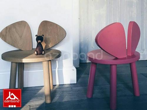 صندلی کودک چوبی