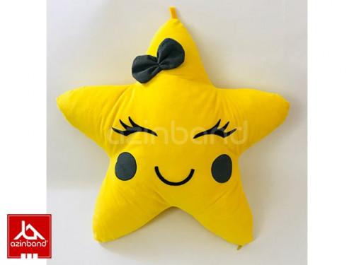 بالش فانتزی ستاره زرد