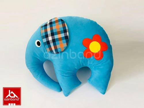 بالش فانتزی فیل آبی