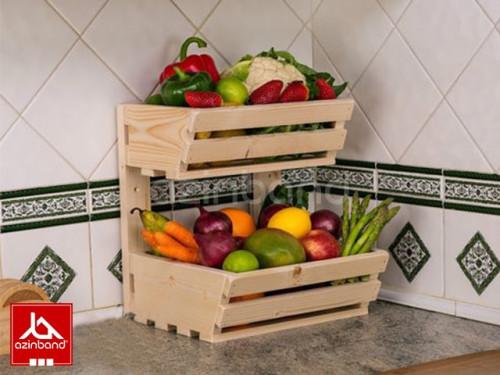 جعبه دو طبقه میوه