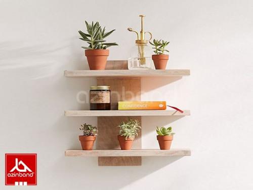 شلف سه طبقه چوبی