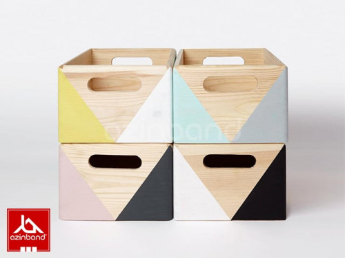 پک ۴ عددی جعبه های فانتزی