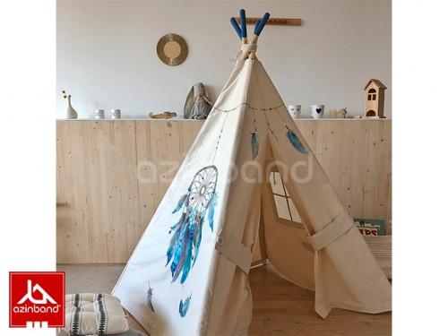 چادر سرخپوستی با نشان سرخپوست