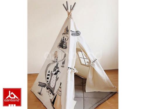 چادر سرخپوستی طرح راسو