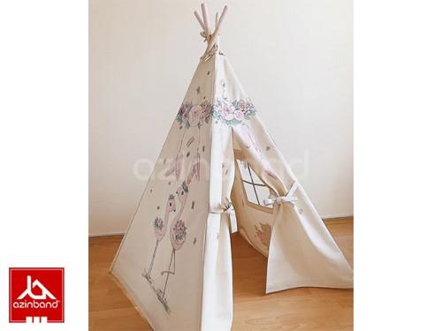 چادر سرخپوستی طرح لک لک