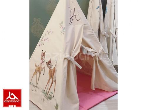 چادر سرخپوستی طرح آهو شماره ۱