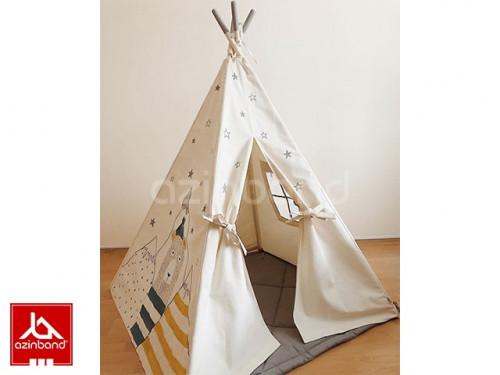 چادر سرخپوستی طرح خرس کوهستان شماره ۲