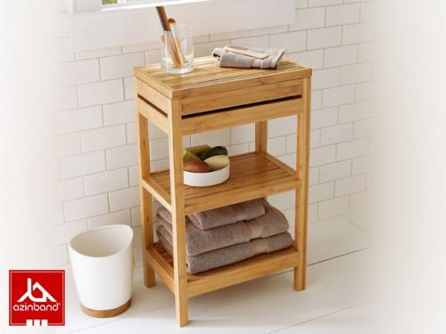 استند چوبی حمام شماره ۱۱