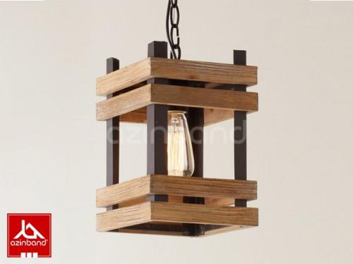 لوستر چوبی شماره ۳