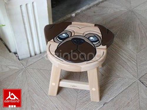 صندلی کودک چوبی طرح هاپویی