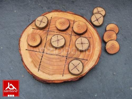 بازی سه به سه قطار چوبی